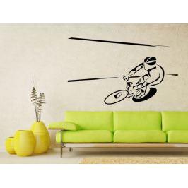 Samolepka na zeď Cyklista 1035