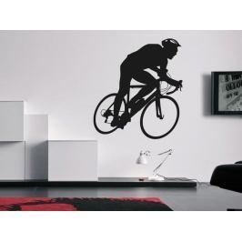 Samolepka na zeď Cyklista 1037