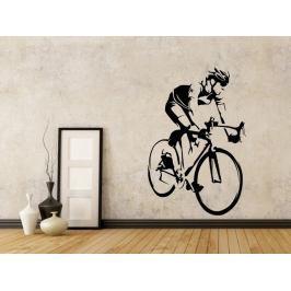 Samolepka na zeď Cyklista 1041