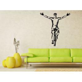 Samolepka na zeď Cyklista 1043