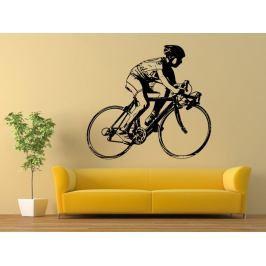 Samolepka na zeď Cyklista 1044