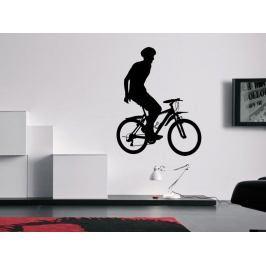 Samolepka na zeď Cyklista 1045