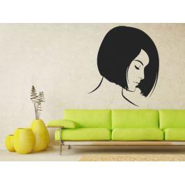 Samolepka na zeď Portrét ženy 1051