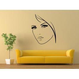Samolepka na zeď Portrét ženy 1064