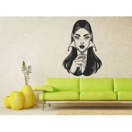 Samolepka na zeď Mystic girl 1099