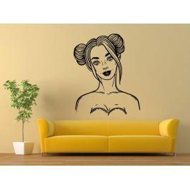 Samolepka na zeď Fashion woman 1100