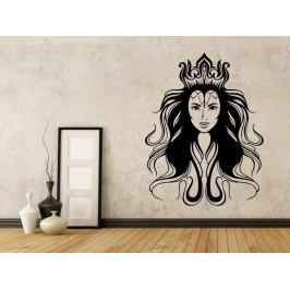 Samolepka na zeď Mystická žena 1103