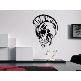 Samolepka na zeď Punk lebka 1172