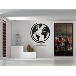 Samolepka na zeď Globus 1227