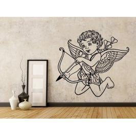 Samolepka na zeď Anděl s šípem 1243