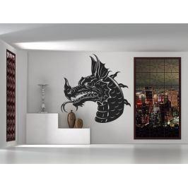 Samolepka na zeď Hlava draka 1260