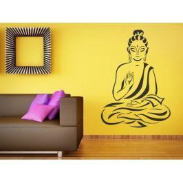Samolepka na zeď Sedící Budha 1294