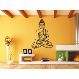 Samolepka na zeď Sedící Budha 1295