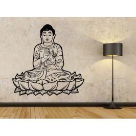 Samolepka na zeď Sedící Budha 1297