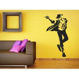 Samolepka na zeď Michael Jackson 1337