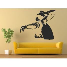 Samolepka na zeď Michael Jackson 1342