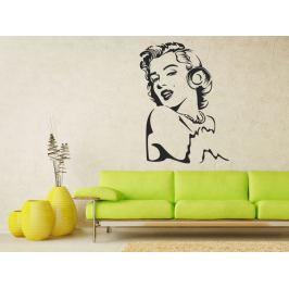 Samolepka na zeď Marilyn Monroe 1356