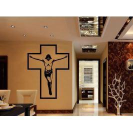Samolepka na zeď Ježíš na kříži 1373