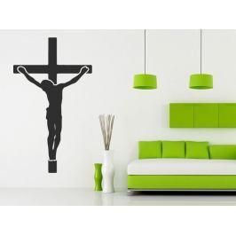 Samolepka na zeď Ježíš na kříži 1374