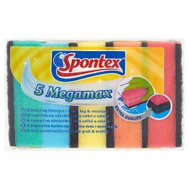 Spontex Megamax houbičky na nádobí 5 ks