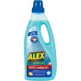 Alex 2v1 čistič + leštěnka na dlažbu a linoleum  750 ml, s citrónovou vůní