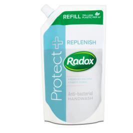 Radox Protect + Replenish tekuté mýdlo náhradní náplň  500 ml