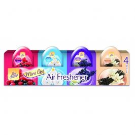 Airpure gelové mini osvěžovače vzduchu  4 x 60 g