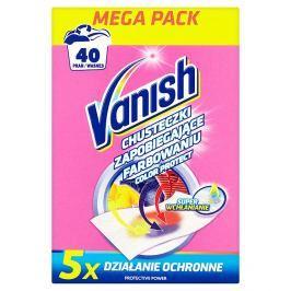 Vanish Color Protect prací ubrousky, 40 praní 20 ks
