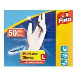 Fino jednorázové rukavice pudrované L 50 ks