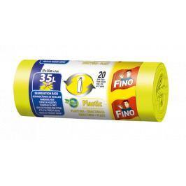 Fino pytle na tříděný odpad plast, 35 l 20 ks