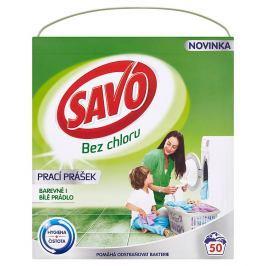 Savo prací prášek na barevné i bílé prádlo, 50 praní 3 kg