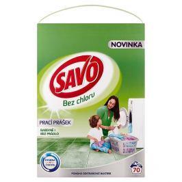 Savo prací prášek na barevné i bílé prádlo, 70 praní 4,9 kg