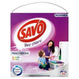 Savo prací prášek na barevné prádlo, 50 praní 3 kg