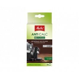 Melitta ANTI CALC práškový bio-odvápňovač pro espresso a kapslové kávovary 4 x 40g