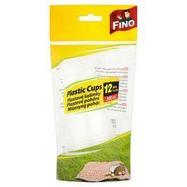 Fino plastové kelímky 200 ml 12 ks