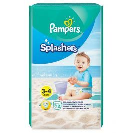 Pampers Splashers kalhotkové plenky do vody, vel. 3 - 4  12 ks