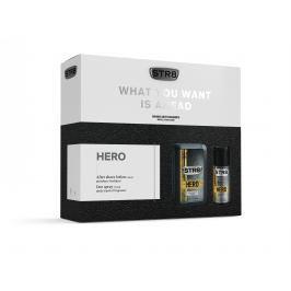STR8HERO dárková sada voda po holení + deodorant  100 ml + 150 ml
