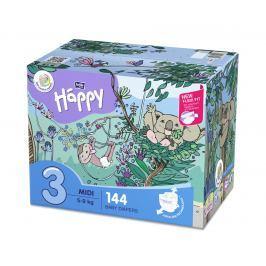 Bella Happy Baby Midi Box plenky 72ks x 2