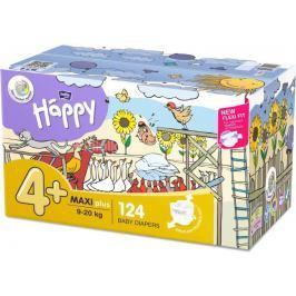 Bella Happy  Baby Maxi Plus Box dětské plenky 2x62 ks