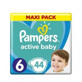 Pampers Active Baby Maxi Pack velikost 6 44 ks/bal.