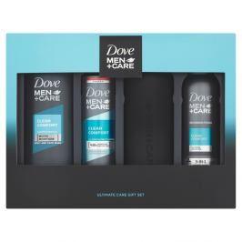Dove Men+Care Clean Comfort vánoční dárková kazeta pro muže + láhev na vodu