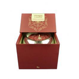 Yankee Candle Dárkový box se svíčkou Sparkling Cinnamon  198 g