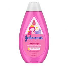 JOHNSON`S Baby Jemný šampon pro děti Shiny Drops (Shampoo) 500 ml