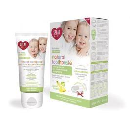SPLAT Zubní pasta pro děti jablko banán Baby + prstový kartáček  40 ml
