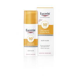 Eucerin Emulze na opalování na obličej s depigmentačním účinkem Pigment Control SPF 50+ 50 ml