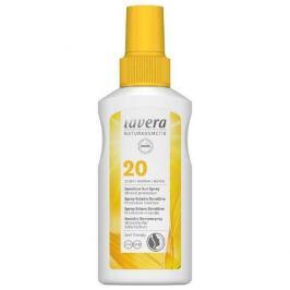 Lavera Opalovací sprej Sensitiv SPF 20 (Sensitive Sun Spray)  100 ml