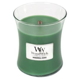 WoodWick Vonná svíčka váza Windowsill Herbs  275 g
