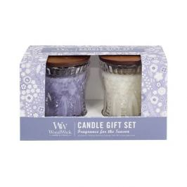 WoodWick Sada svíček Lavender Spa & Magnolia  2 x 136 g