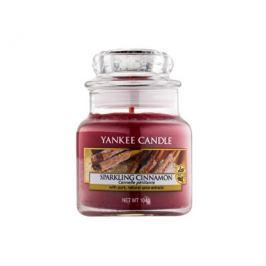 Yankee Candle Classic malý vonná svíčka Třpytivá skořice, 104 g