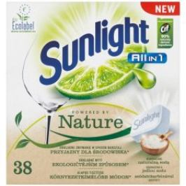 Sunlight All in One Nature tablety do myčky 38 ks/bal.